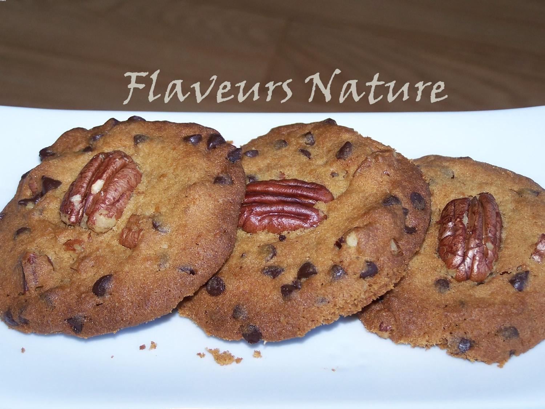 Cookies chocolat et noix de pécan