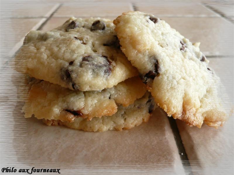 Cookies moelleux au St Môret & chunks au chocolat