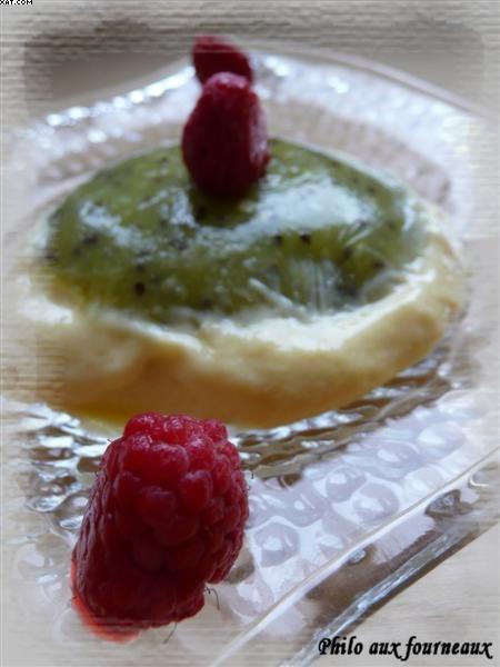 Crème mangue-kiwi