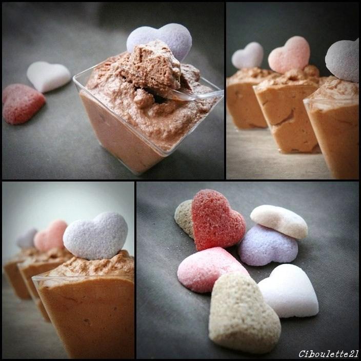 Mousse au chocolat noir et caramel recette de pierre for Mousse au chocolat pierre herme