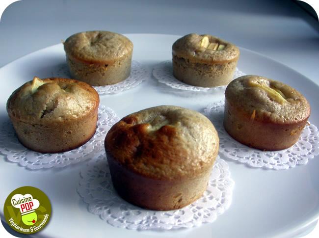 Muffins Pommes-Noisettes