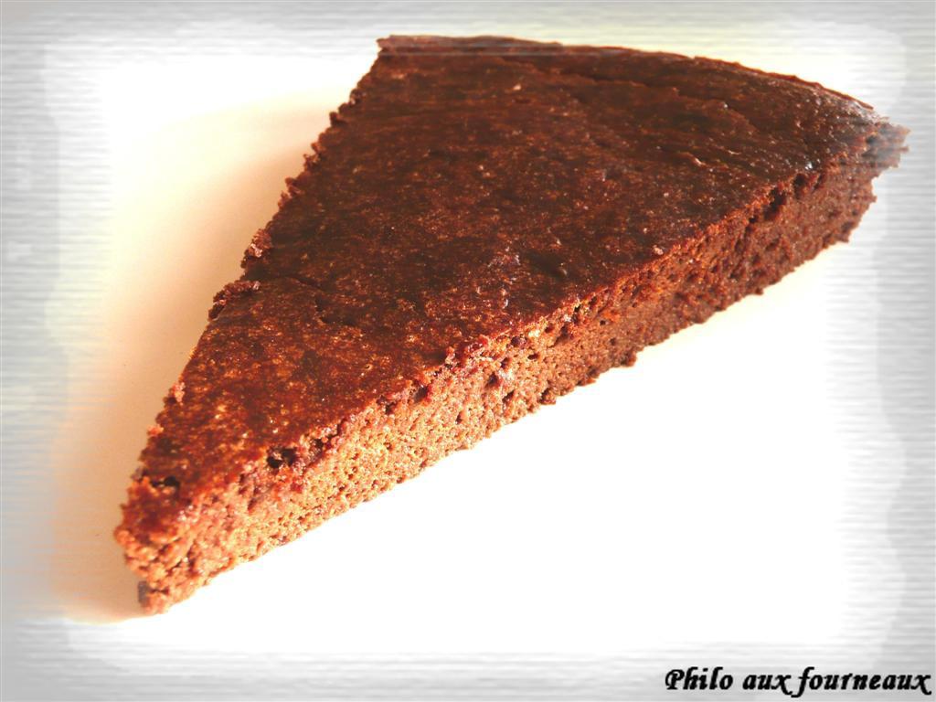 Moelleux au chocolat & à la cannelle