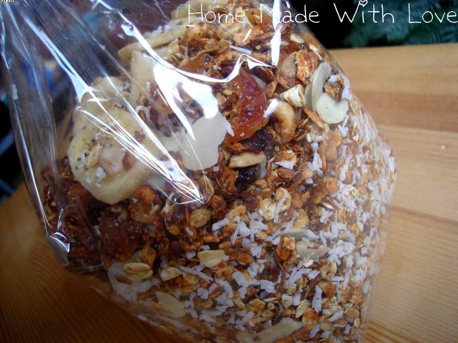 Muesli (ou granola) maison