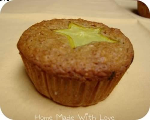 Muffin à la carambole