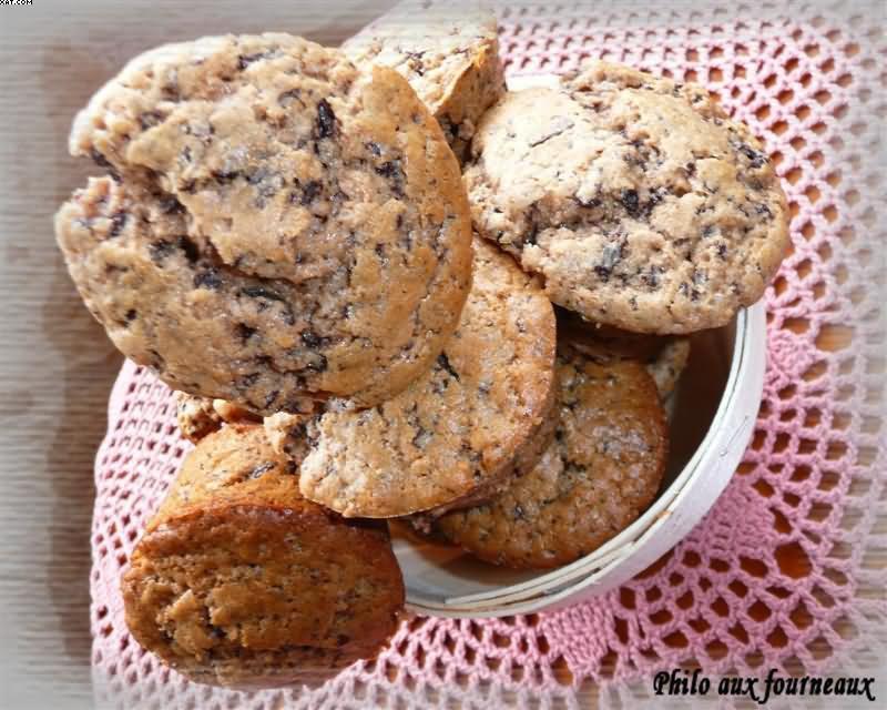 Muffins à la farine de châtaigne et à la fève Tonka