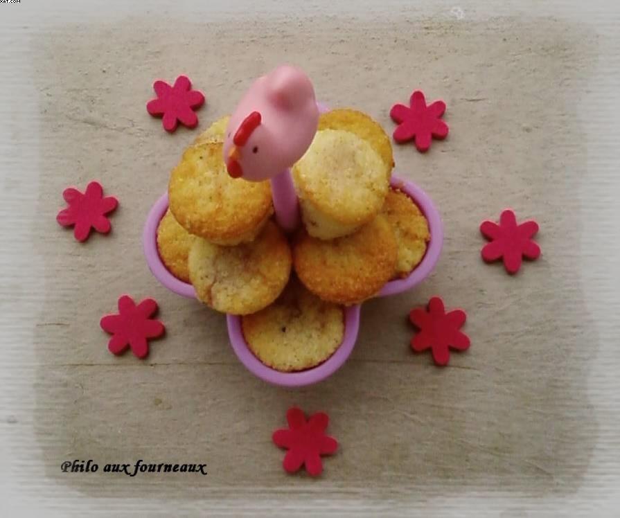 Muffins amandes & fraises