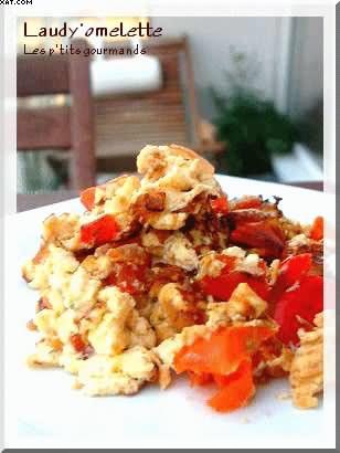 Omelette rouge