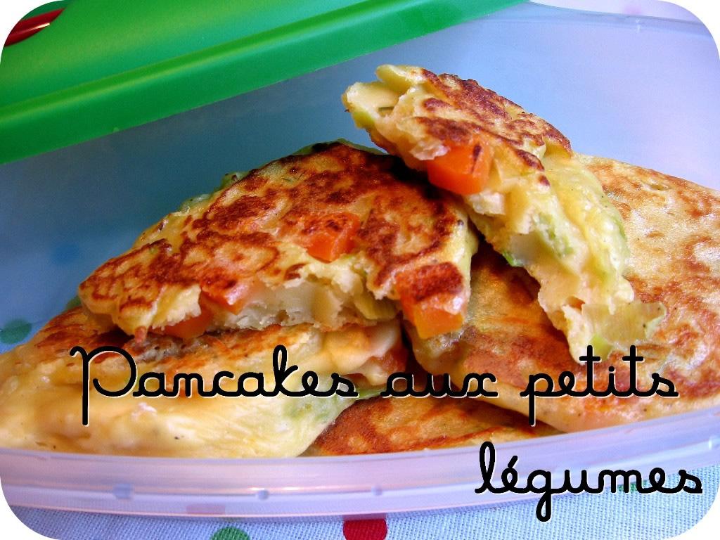 Pancakes aux petits légumes
