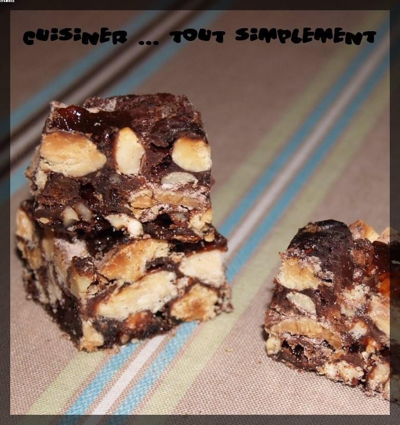 Panforte au Chocolat