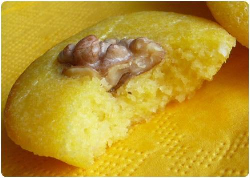 Petites bouchées de polenta aux noix