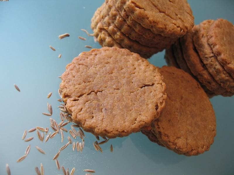 Petits biscuits vanille cumin brousse