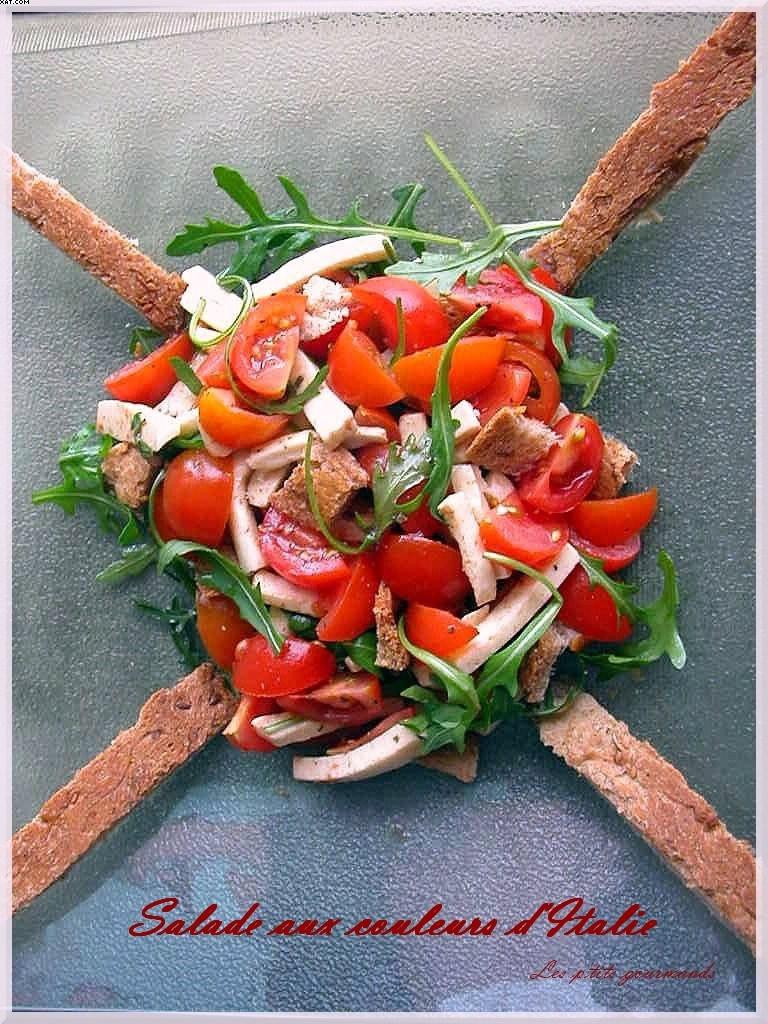 Salade aux couleurs d'Italie