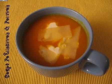 Soupe Potimarron - Poivron