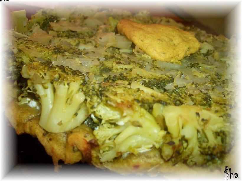 Tarte Tatin épicée brocolis ricotta