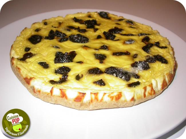 tarte au fromage blanc aux pruneaux tartes et tartelettes. Black Bedroom Furniture Sets. Home Design Ideas