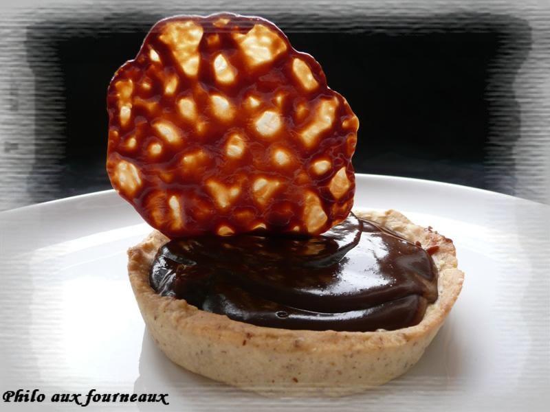 Tartelettes à la Pralinoise et au Carambar ®