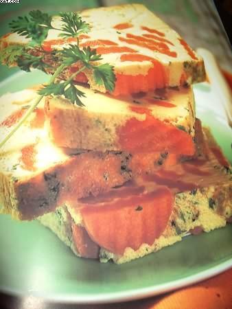 Terrine de carottes au cumin