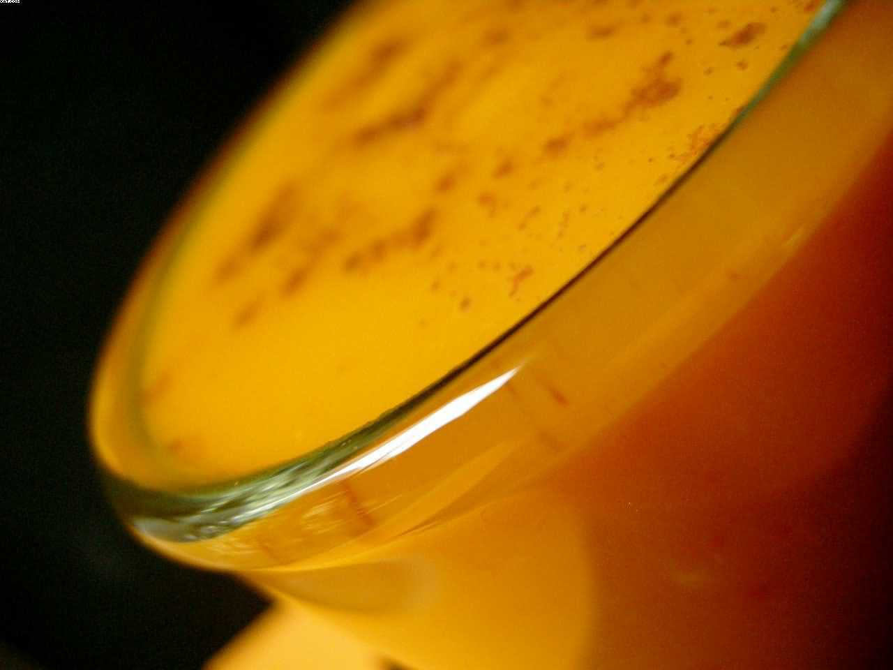 Velouté de potimarron à l'orange