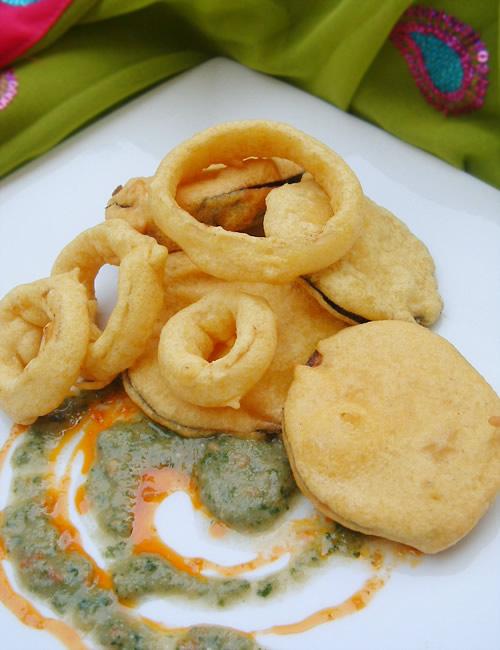 Beignets indiens aux légumes