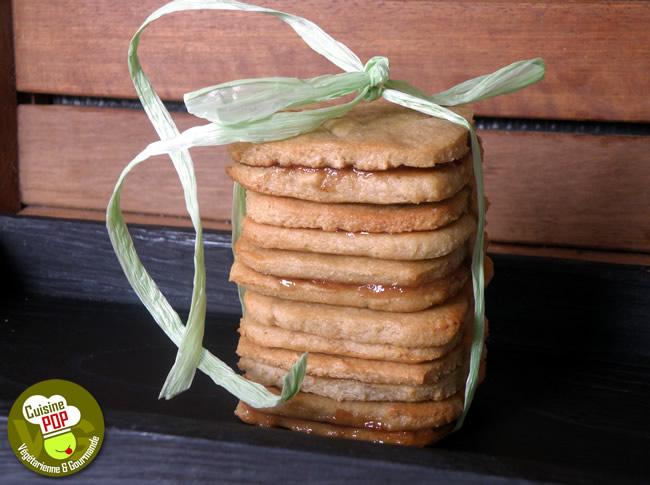 Biscuits fourrés à la figue - Végétalien