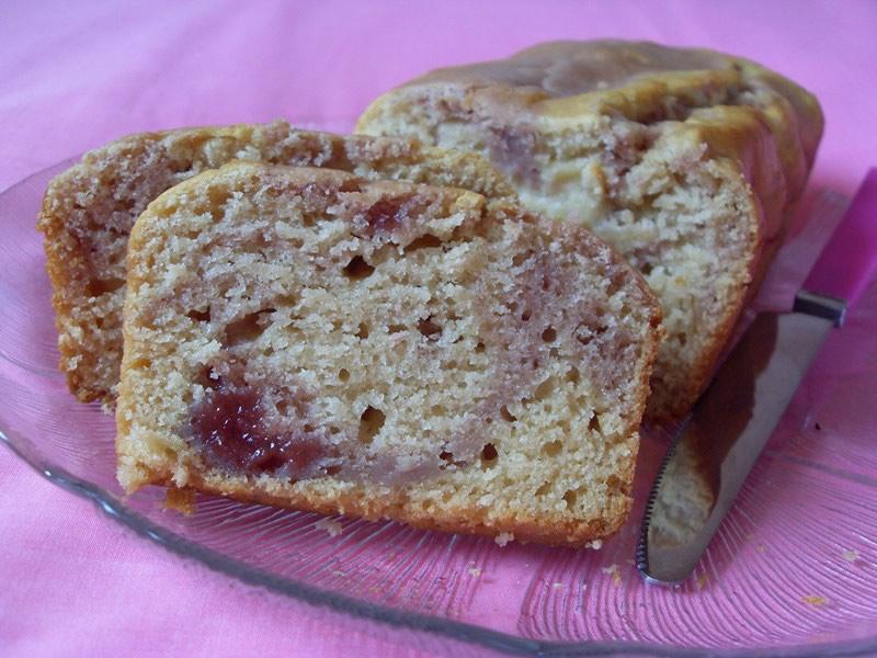 Cake vanille fraise (Vegan)