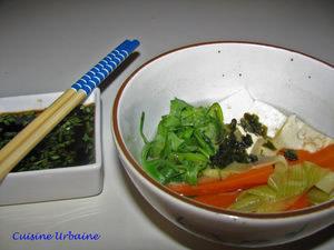 Cocotte de tofu aux légumes détox