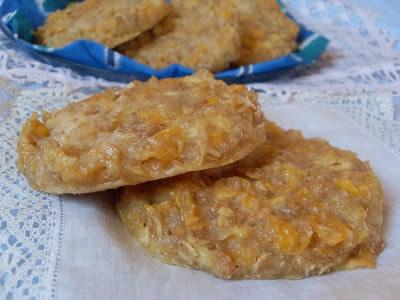 Cookies à la pomme et aux flocons de céréales