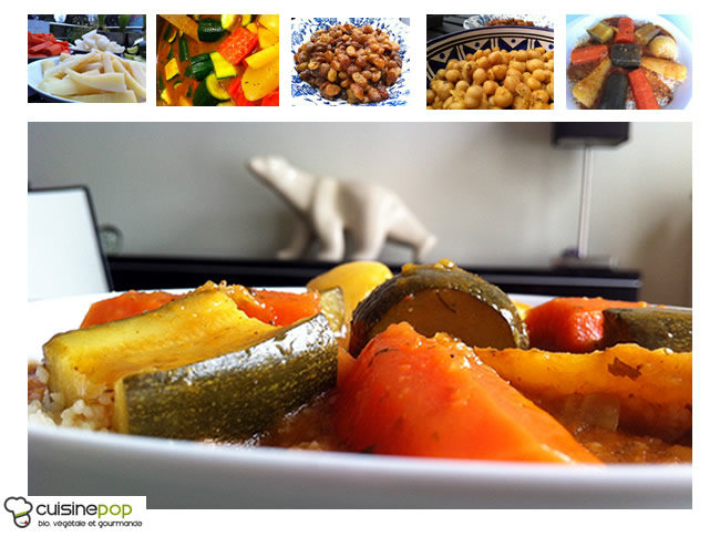 Couscous marocain végétalien