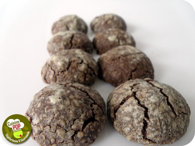 Craquelins chocolat-noisettes