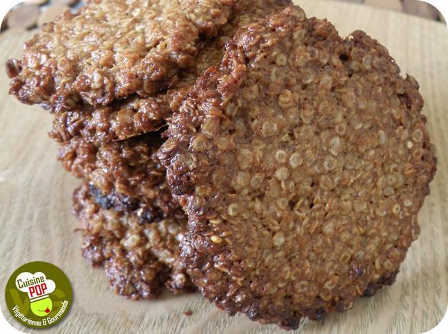 Croustilles Aux Flocons De Quinoa Biscuits Vegan