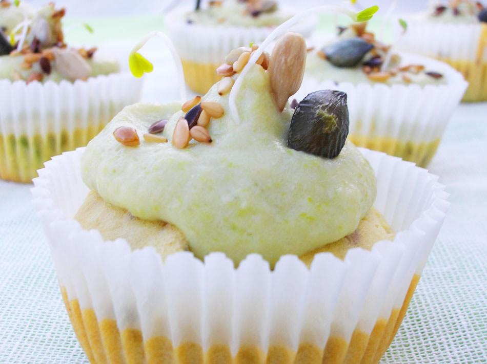Cupcake aux asperges