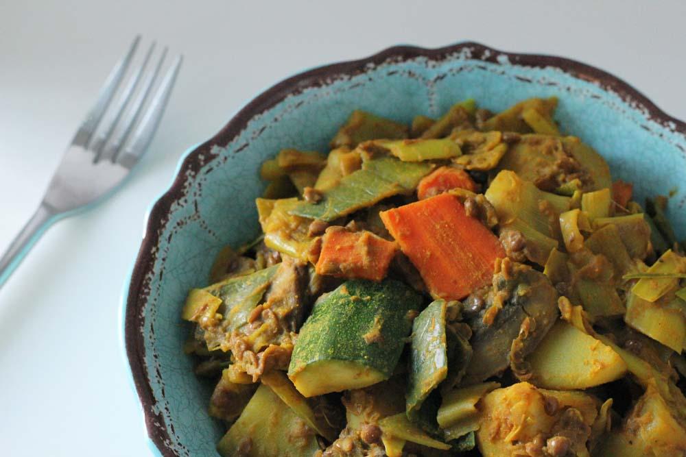 Curry de légumes - Wok & Curry