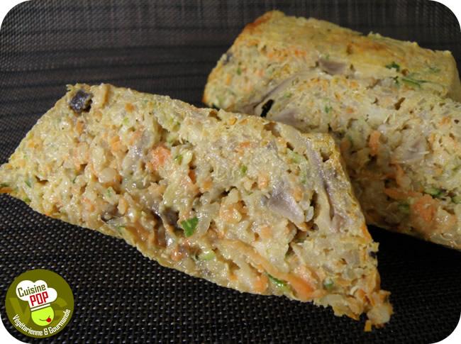 Terrine quinoa légumes