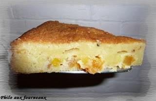 Gâteau au chocolat blanc et fève tonka