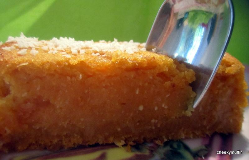 Gâteau de patate douce à la noix de coco (vegan)