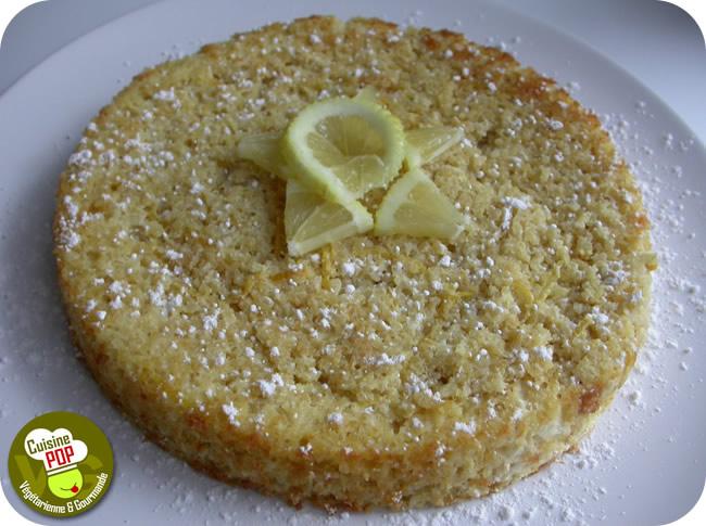 Gâteau de Quinoa au citron