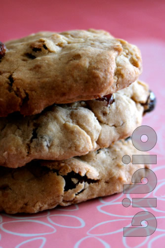 Cookies raisins flocons de riz