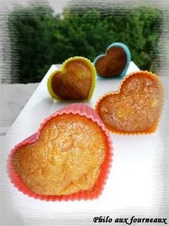 Muffins à l'ananas & aux carottes