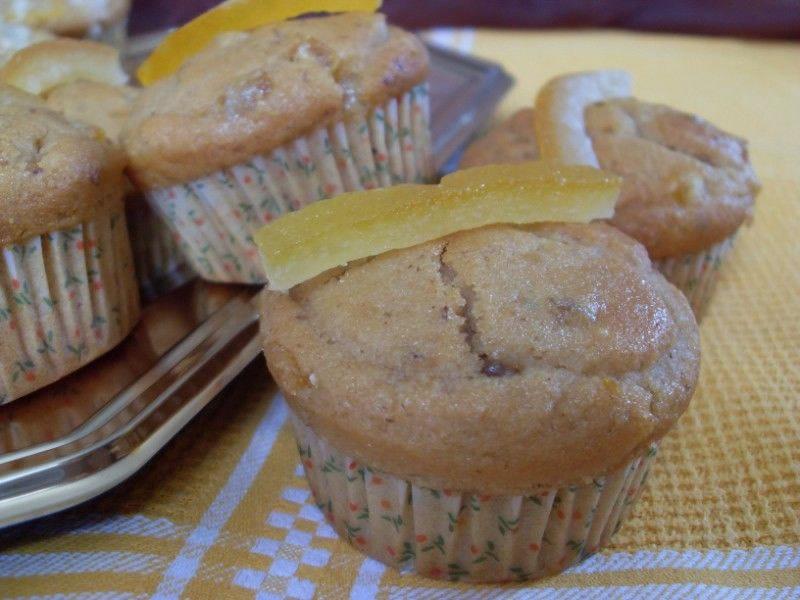 Muffins à l'orange confite et Grand-Marnier (Végétalien)