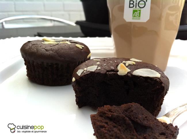 Muffins moelleux chocolat-noisettes sans gluten et sans lait
