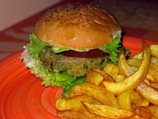 Vegan Burger- Galettes lentilles corail