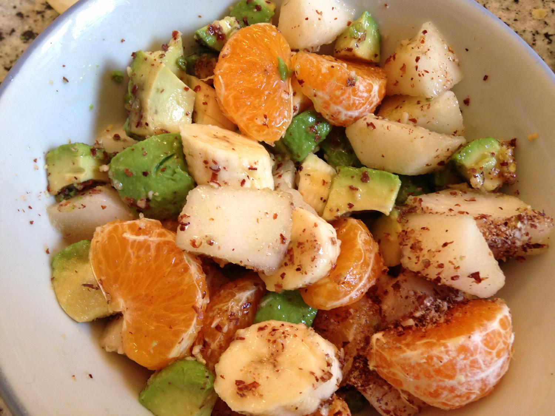 Salade de fruits d hiver soupes salades de fruits - Variete de salade d hiver ...