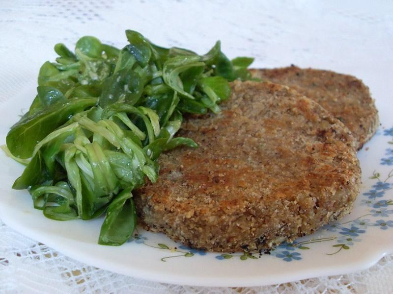 Steaks de lentilles et céréales (Vegan)