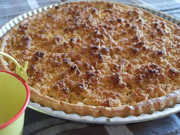 tarte crumble coco pommes bananes vegan tartes et tartelettes. Black Bedroom Furniture Sets. Home Design Ideas