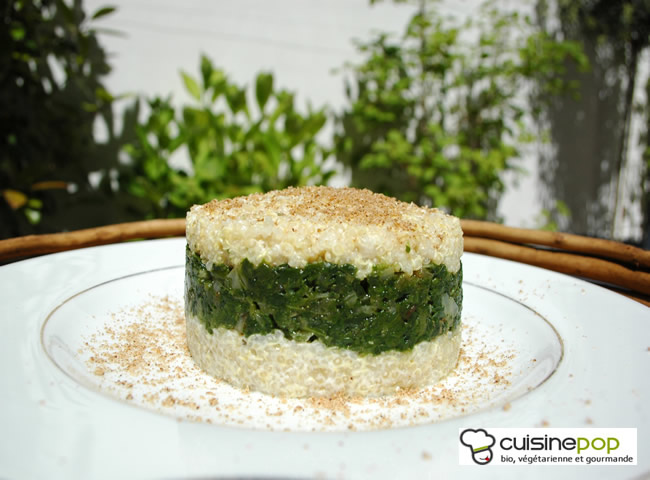 Timbale bianco-verde